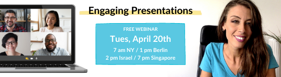 English Webinar - Deliver Engaging Presentations