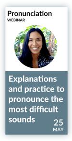 Pronunciation Webinar