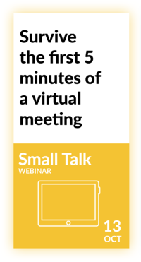 Talaera CTAs for webinars small talk